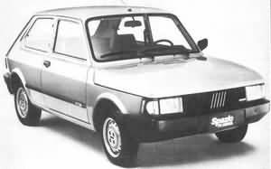 Fiat 147. Su historia. fotos arregladas.