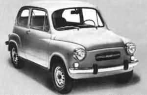 Todos los modelos del Fiat 600
