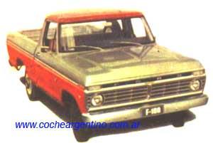 Ford F-100: la camioneta mas vendida de argentina