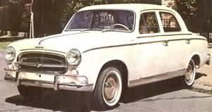 Peugeot 403 argentine, la première a avoir vu le jour à Buenos Aires