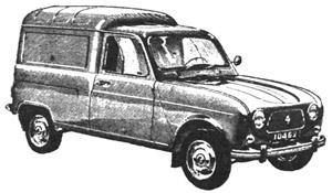 Renault 4: Modelos y Caracteristicas