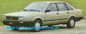 Volkswagen Carat - Ficha Técnica